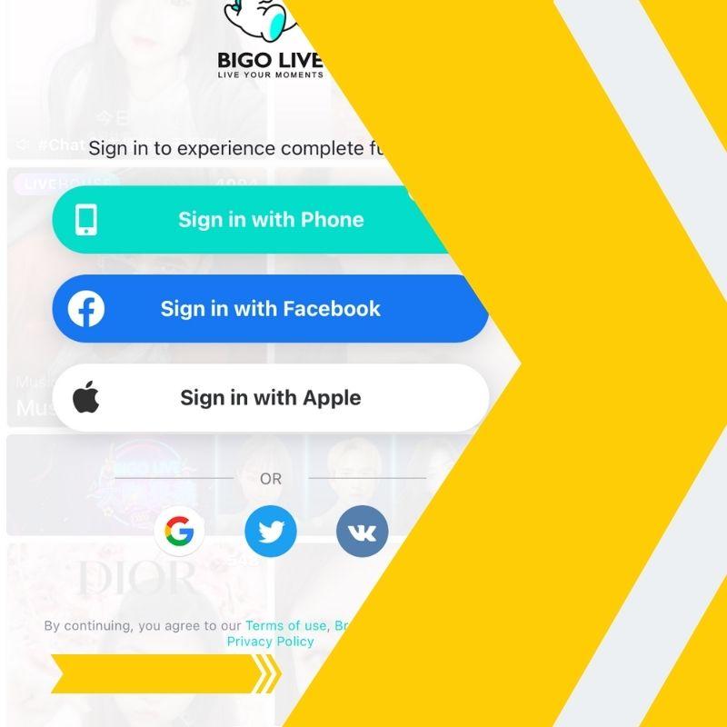 How to Login to BIGO LIVE