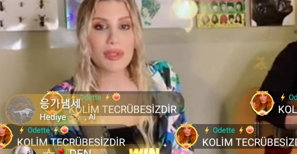 BIGO LIVE, İrem Derici