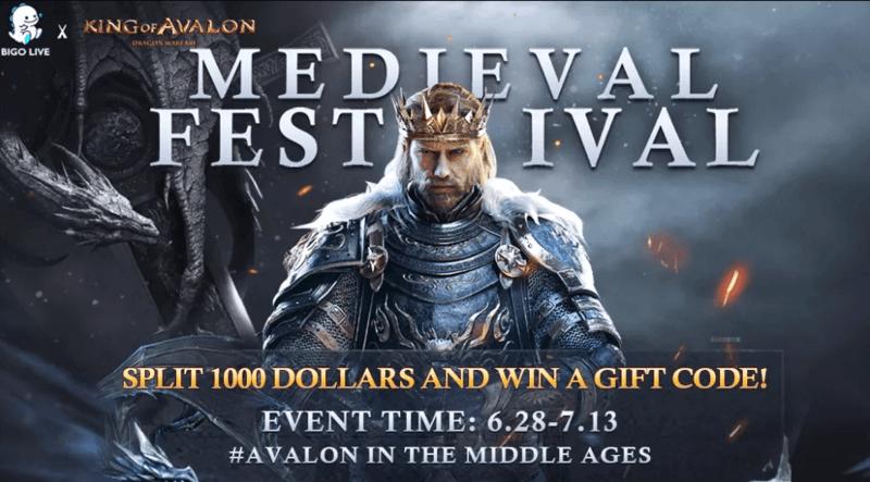 BIGO LIVE & King of Avalon