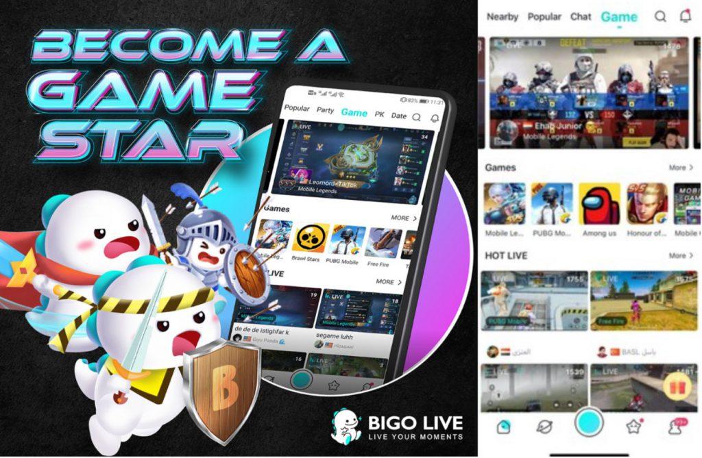 BIGO LIVE Game Streaming
